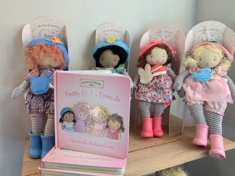Dolls and Book