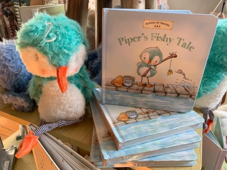 Piper Book and Animal