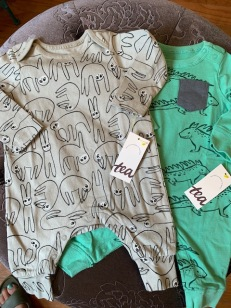 Tea Collection Boys Rompers