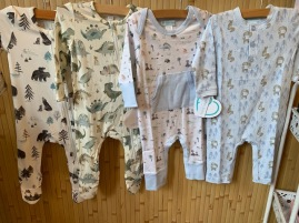 Angel Dear and Feather Baby Rompers
